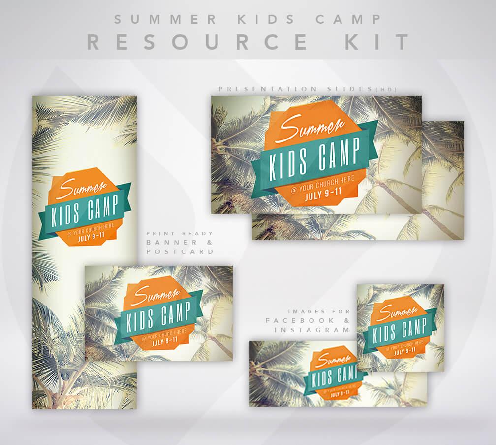 Summer Kid's Camp Resource Kit