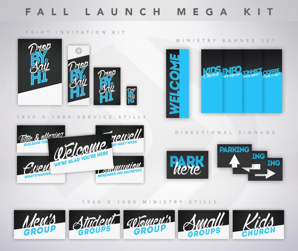 Fall Invite Mega Kit