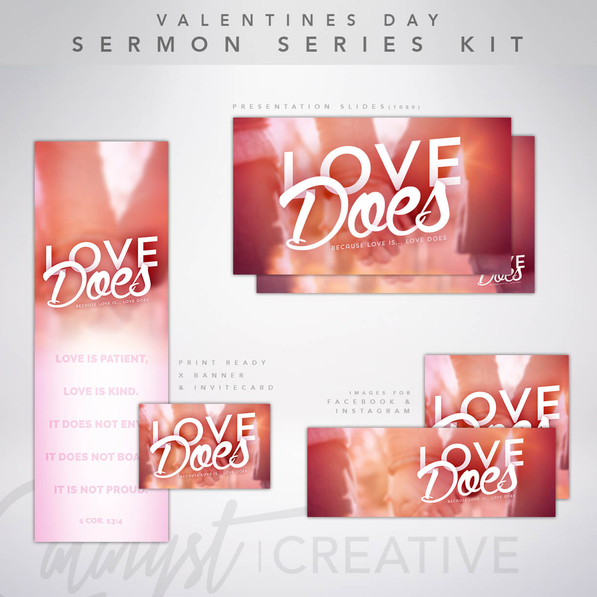 Valentines Day Sermon Series Kit