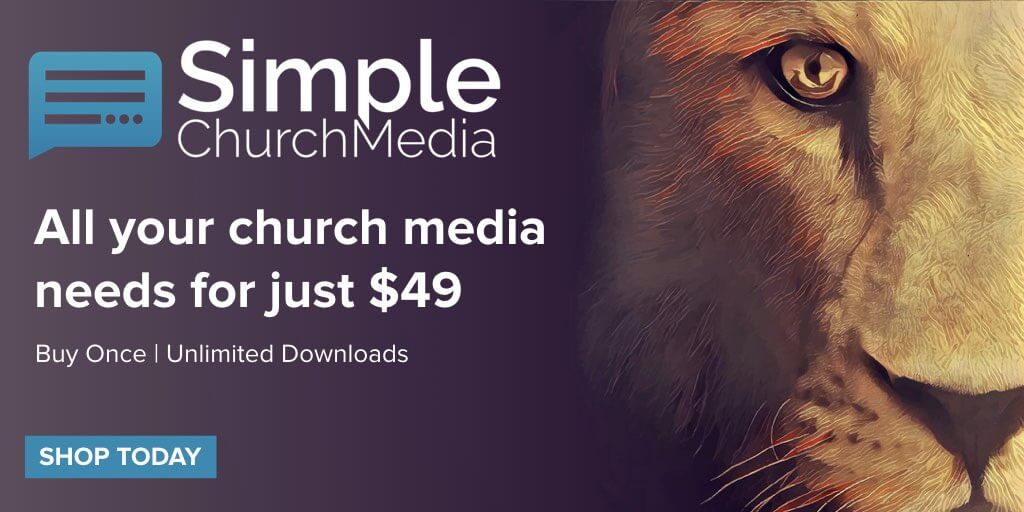 Get all your church media needs for just $49.