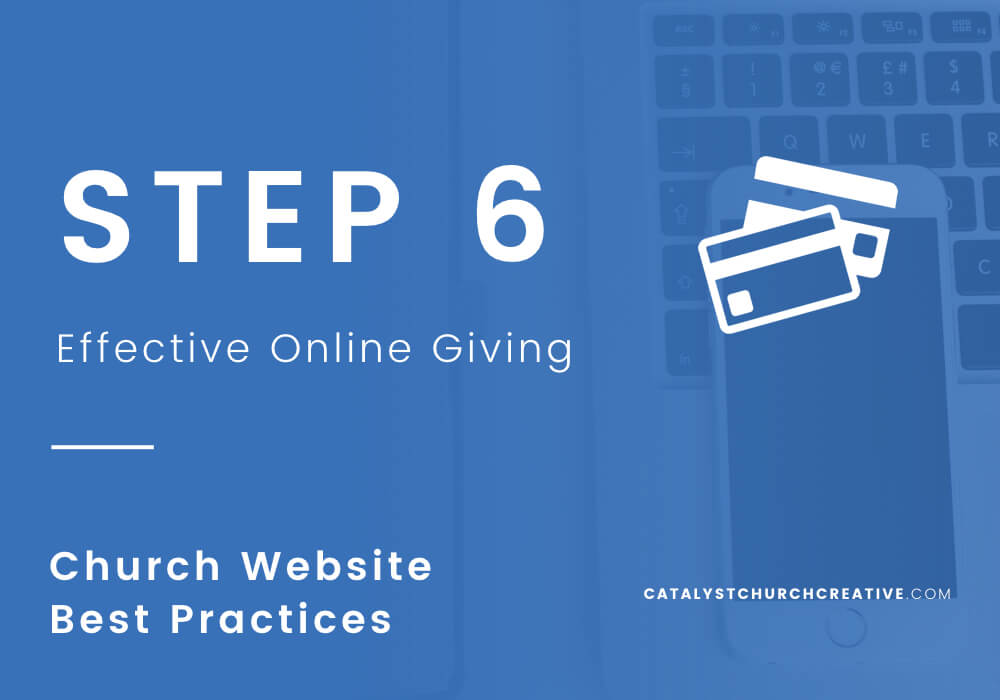 Three Keys to Your Online Giving Page