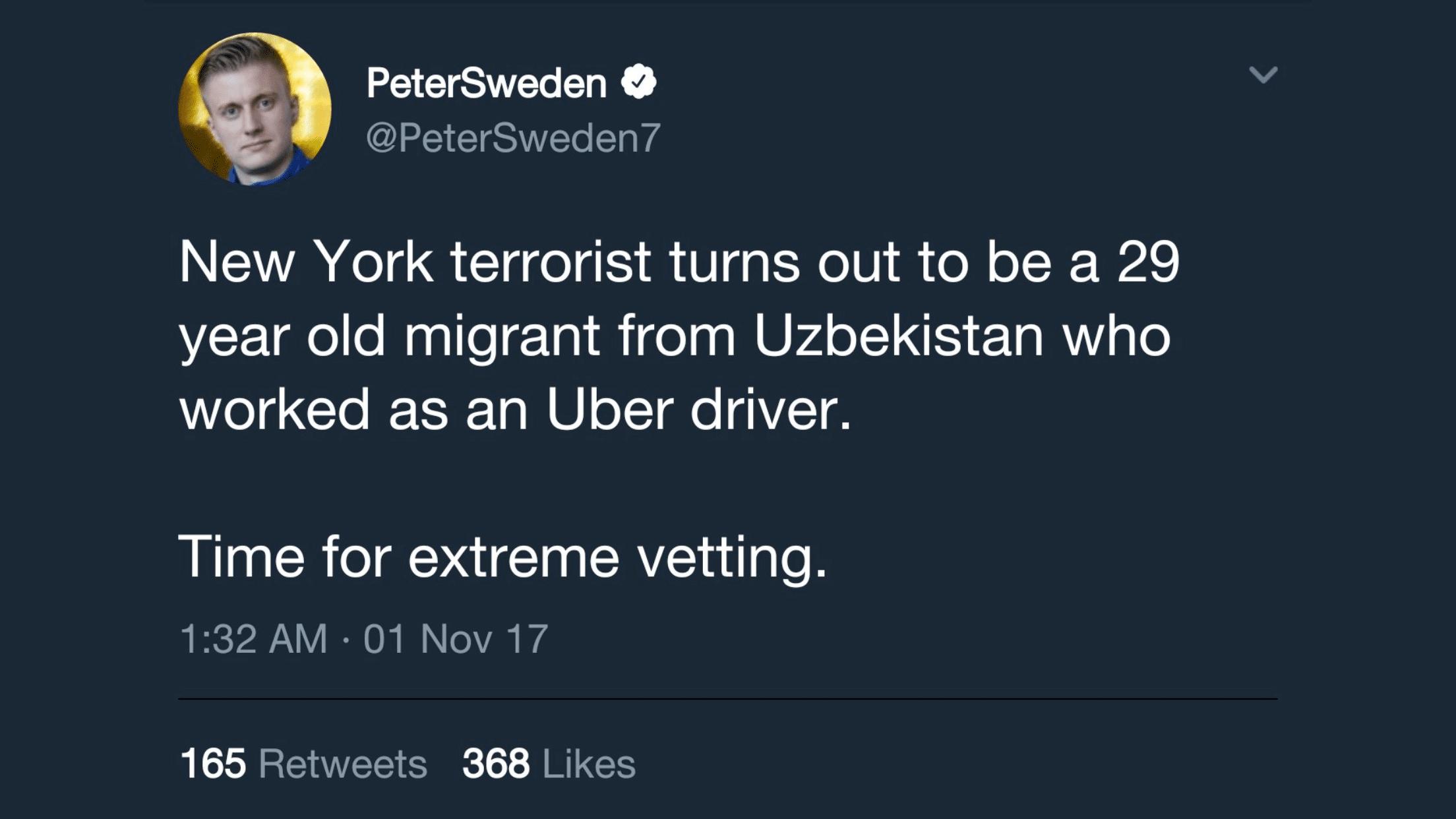 Immigrant Terrorist