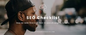 How to rank fast and first in search engine results.
